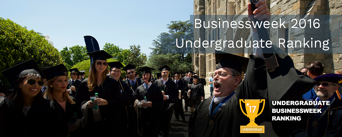 Undergraduate Businessweek Ranking